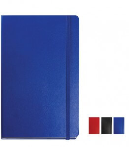 Image of Balacron Branded Notebook and available colours from The Notebook Warehouse